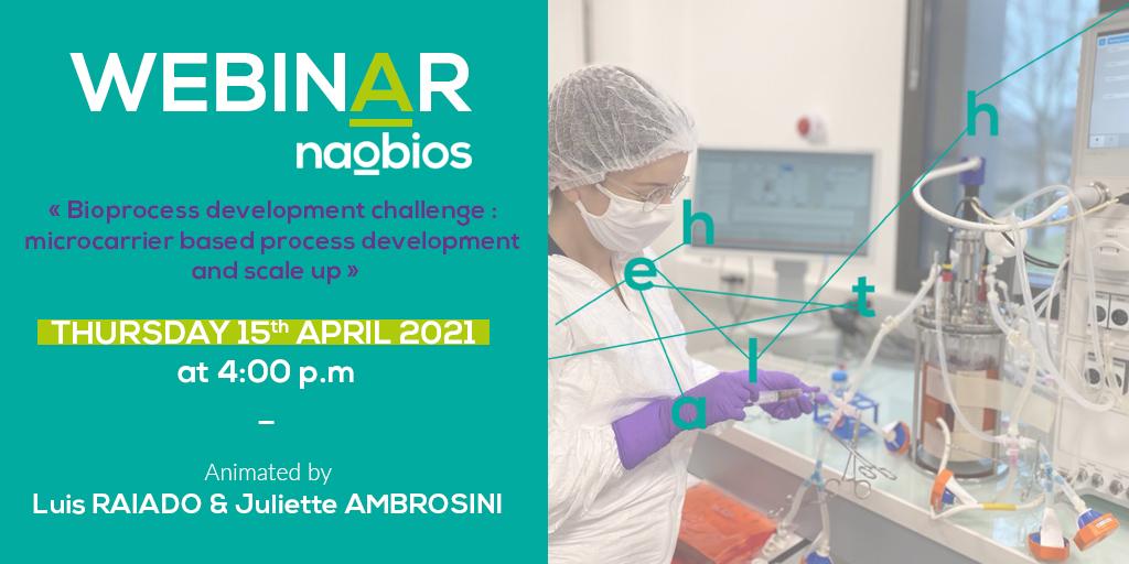 Bioprocess development webinar - Naobios